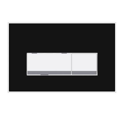 P54 Cam Kumanda Paneli Siyah